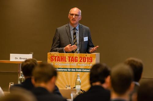 Dr. Sebastian Bross | Salzgitter Flachstahl GmbH | Stahl Tag 2019