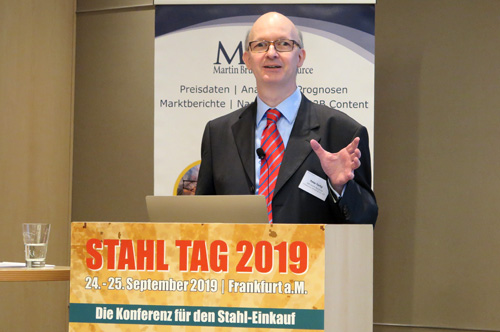 Peter Fertig | MBI Martin Brückner Infosource GmbH & Co. KG | Stahl Tag 2019